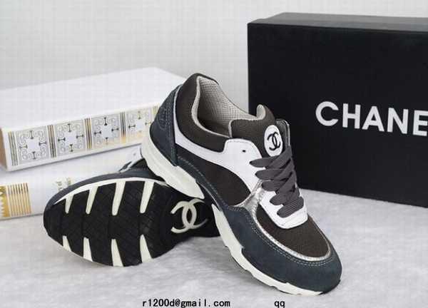 Bleu Basket Femme chaussures Chanel Chaussure chaussure OZPkiuXT